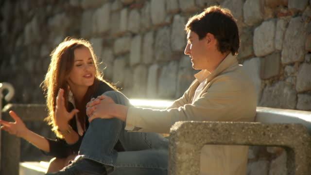 HD: Couple Having Fun Outdoors video