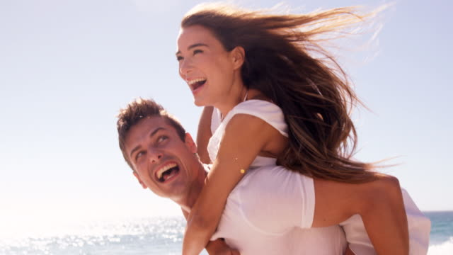 Couple having fun together video