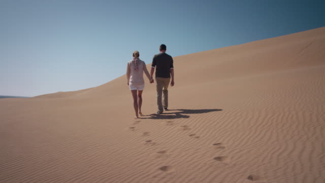 Couple in desert video