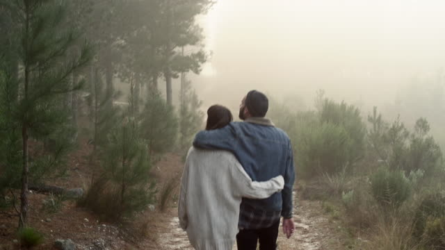 Couple in Forrest video