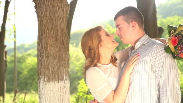 vídeos y material grabado en eventos de stock de pareja en el amor - miembro humano