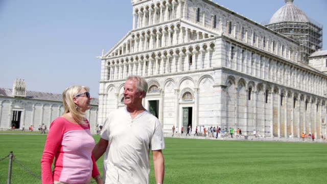 Couple in Pisa