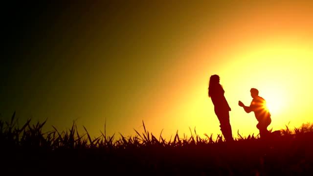 Silhouettes de Couple mariage proposition - Vidéo