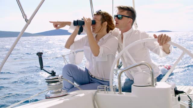 Par de la WS navegar en un velero a su destino - vídeo