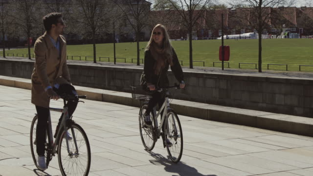 Couple of tourist in Copenhagen video