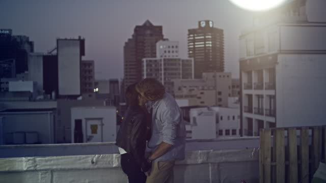 Couple on rooftop video