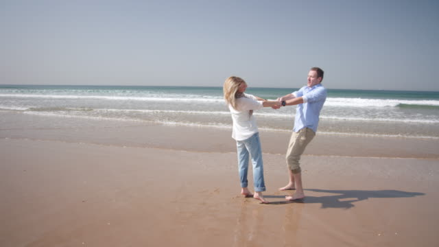 Couple on the beach video