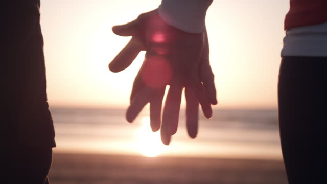 Couple on the beach Selected Takes - Shot on RED Epic falling in love stock videos & royalty-free footage