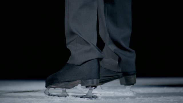 para na lodzie od ich kocham taniec - łyżwa filmów i materiałów b-roll