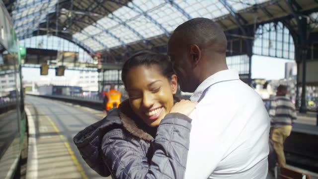 Couple Rail Commuting Together video