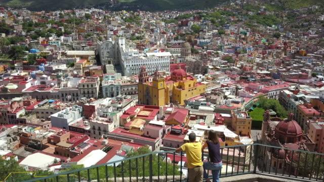 Couple visiting Guanajuato Mexico video