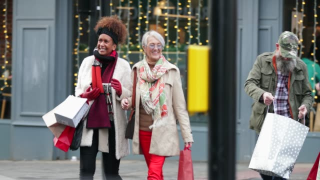 Couples Christmas Shopping