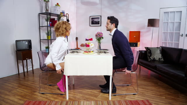 Couples love relationship melts down video