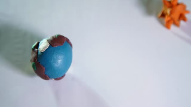 covid earth plasticine