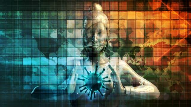 covid-19 новости заголовок концепция фон концепция искусства - covid testing стоковые видео и кадры b-roll