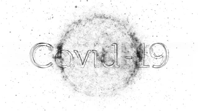 Covid-19 title animation video