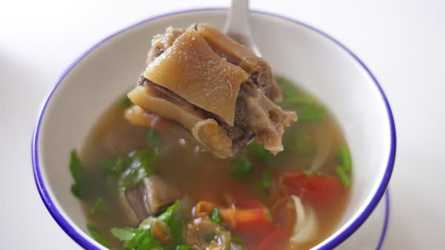 Cow tail stewbsoup