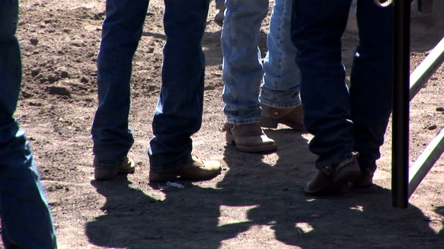 cowboy boots and jeans - rodeo stock videos and b-roll footage