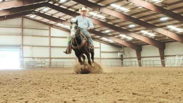 Práctica de vaquero - vídeo