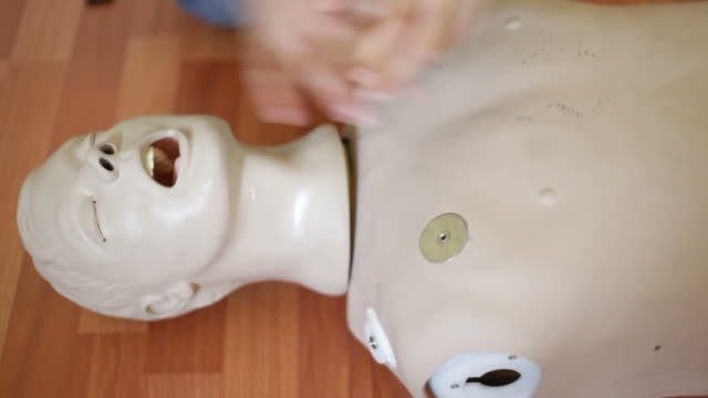 cpr doll video