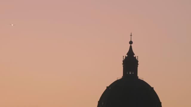 Cúpula catedral Porto Alegre avião video