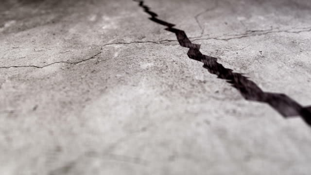 Cracks on the ground Cracks on the ground earthquake stock videos & royalty-free footage