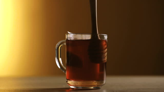 Cranberry tea and honey video