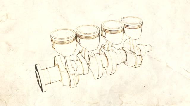 cranck shaft old video