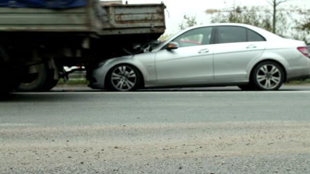 crash car and truck video