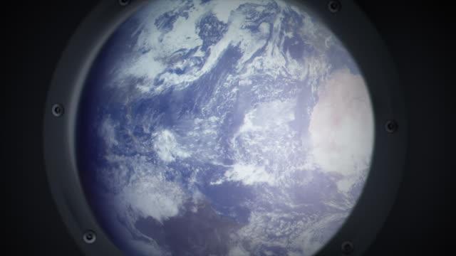 Crashing on earth video