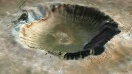 istock Crater Barringer Arizona USA-rotation loop 1282839313