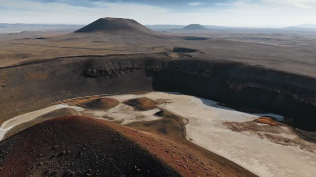 Craters in a Volcanic Landscape