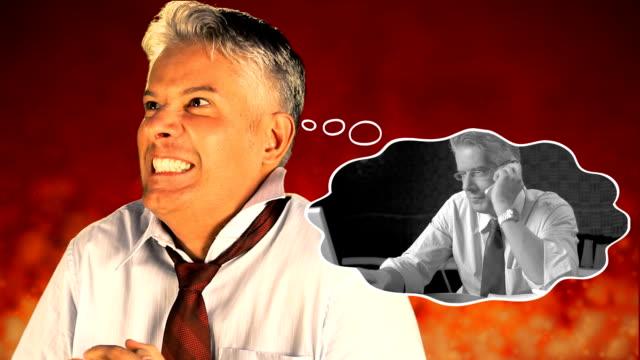 Crazy businessman video