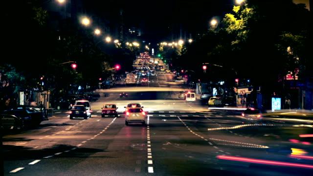 Córdoba Argentina timelapse city traffic 2 video