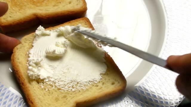 Cream cheese breakfast video