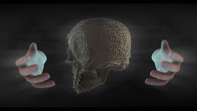 att skapa cyborg konstgjorda futuristiska - platypus bildbanksvideor och videomaterial från bakom kulisserna