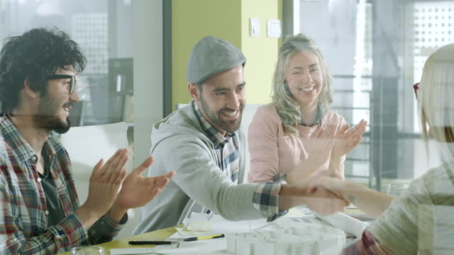 Creative People Working Together video