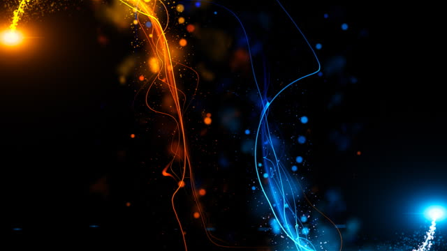 sfondo creativo: simmetrica fire ice - ice on fire video stock e b–roll