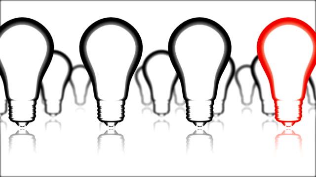 Creativity bulb video