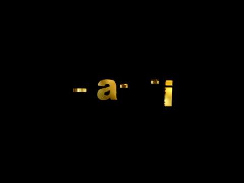 創造性  - 文字記号点の映像素材/bロール
