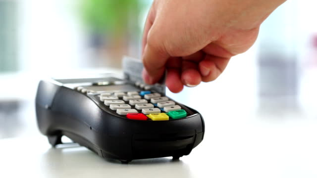 Credit card payment, buy, sell & shopping products & service video