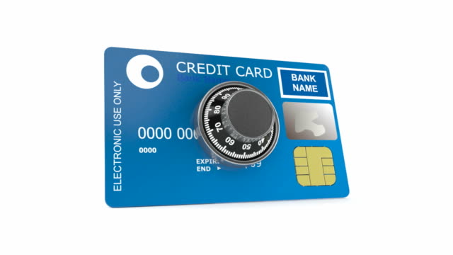 Creditcard with combination lock video