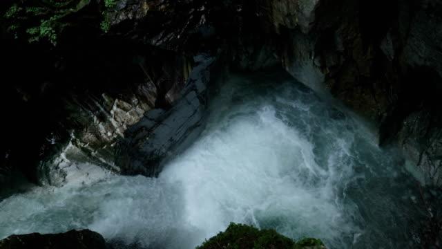 Creek Waterfall Italian Alps - video