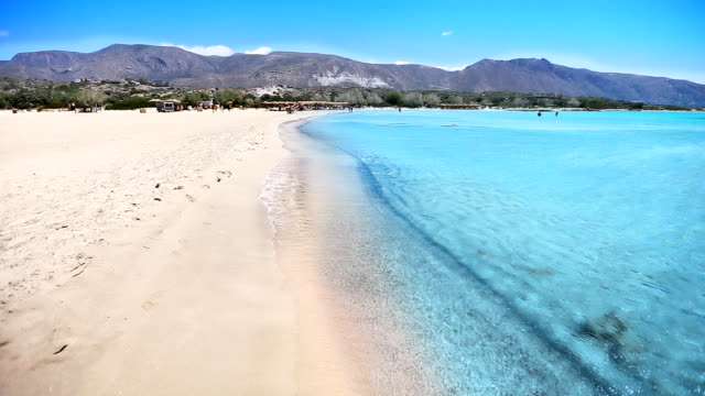 Crete beach. Greece video