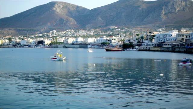 Crete Greece. Beautiful sea coast video