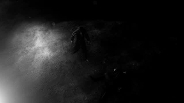 A Crime Scene Investigated by Private Detective Sherlock Holmes