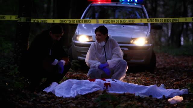 vidéos et rushes de lieu du crime - meurtre