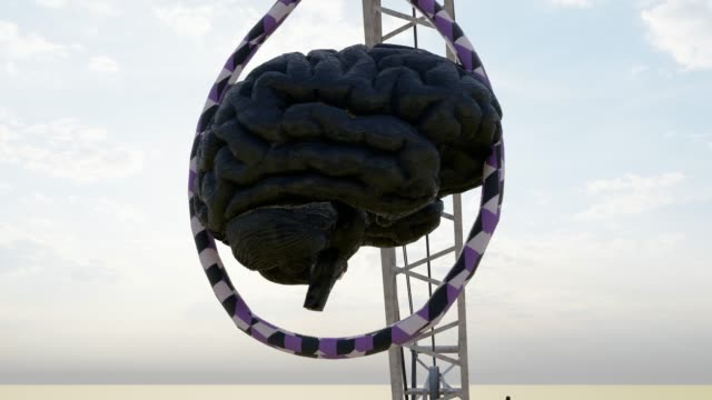 criminal mind with hangman noose on crane