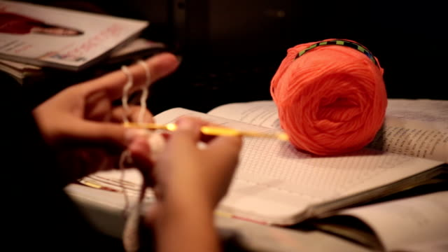 Crocheting video
