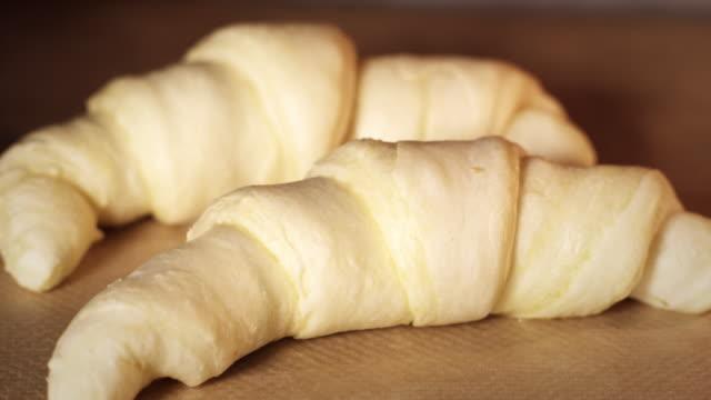 Croissants timelapse video